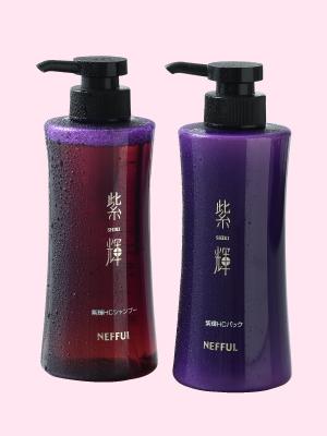 紫輝HCシャンプー・HCパック