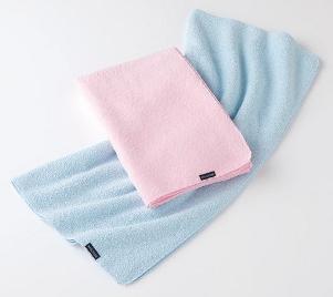 ミクロピュア吸水バスタオル ミクロスター使用